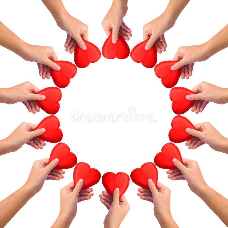 Conceptueel symbool van liefde royalty-vrije stock afbeelding