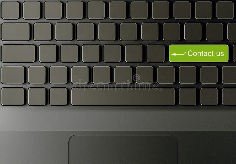 Conceptueel toetsenbord royalty-vrije stock foto