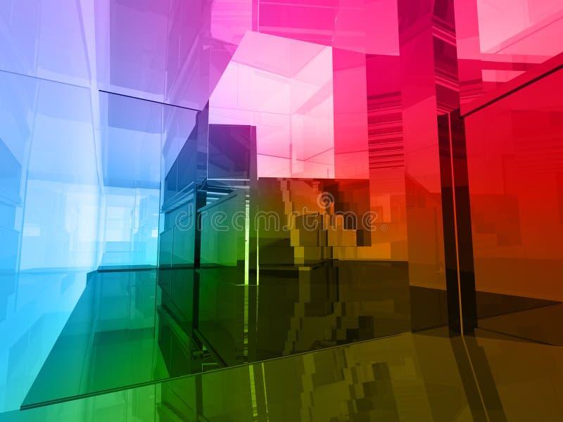 Conceptuele architectuur vector illustratie