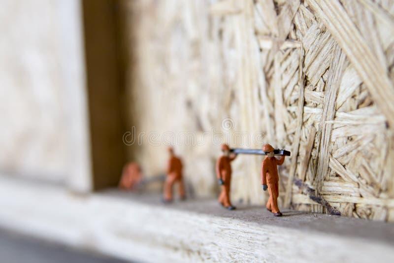 Conceptuele miniatuur royalty-vrije stock fotografie