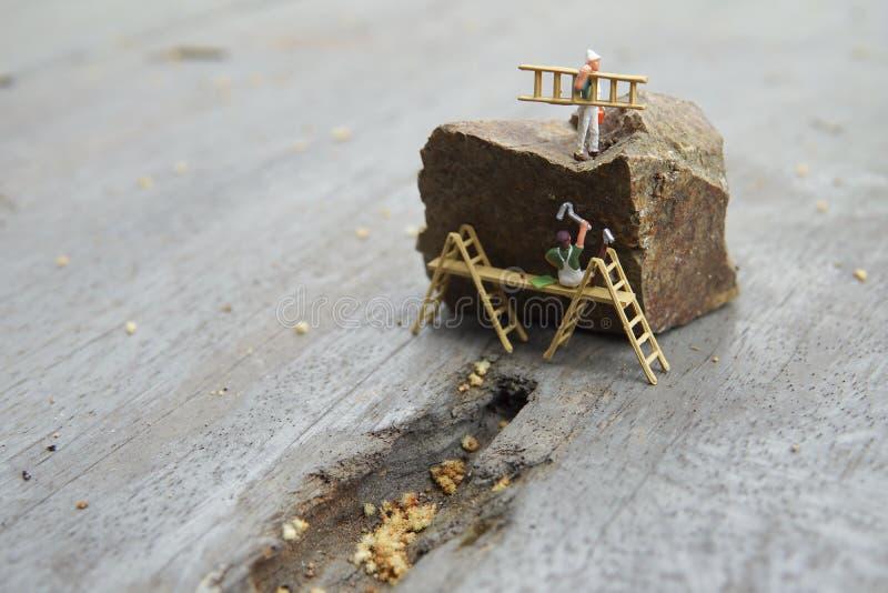 Conceptuele miniatuur royalty-vrije stock afbeelding