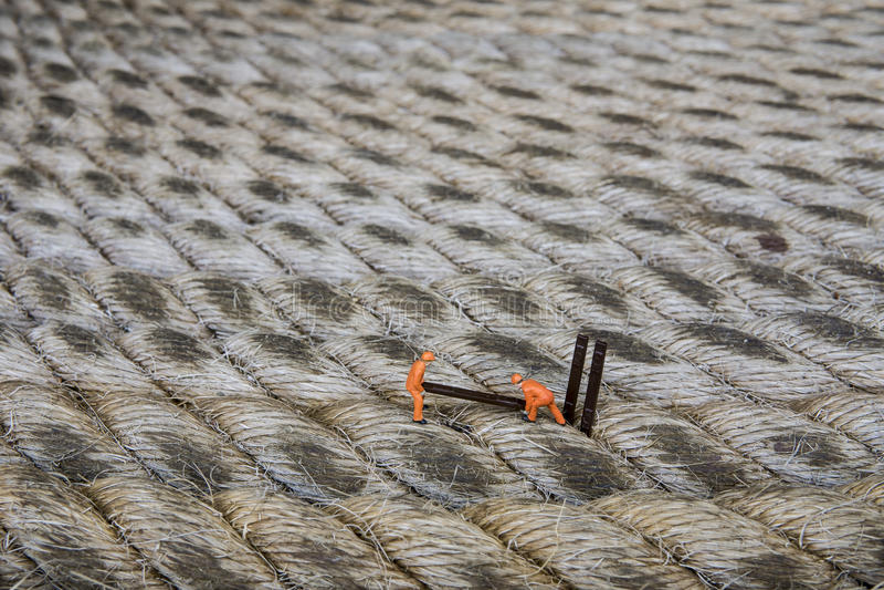 Conceptuele miniatuur stock fotografie