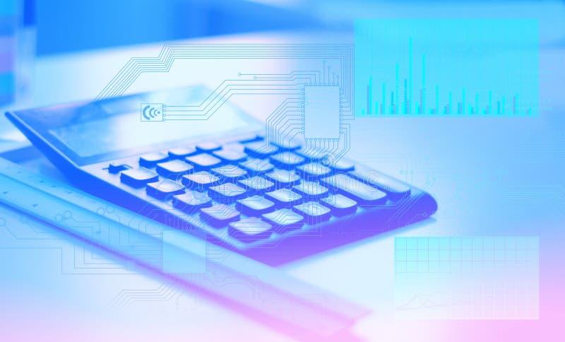 Conceptuele oplossing van de overgang van de oude gegevensverwerkingstechnologie naar de technologie van de toekomst, het gebruik royalty-vrije stock foto's