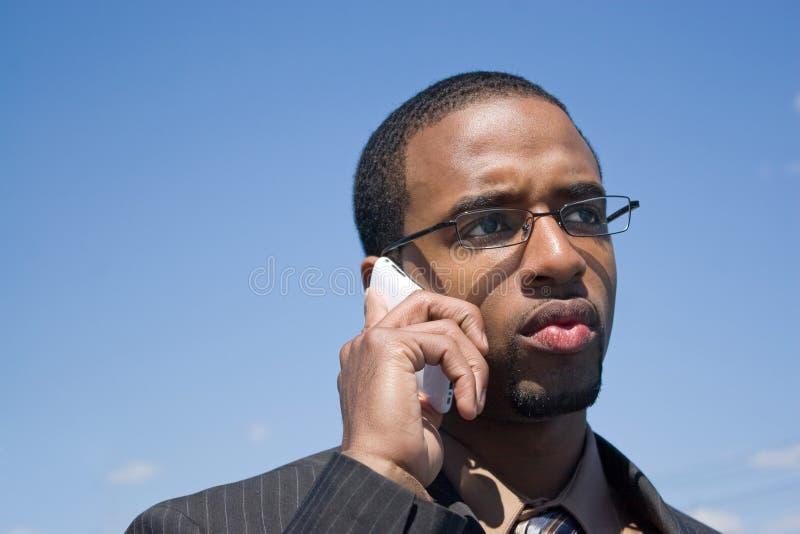 Concerned Business Man stock photos