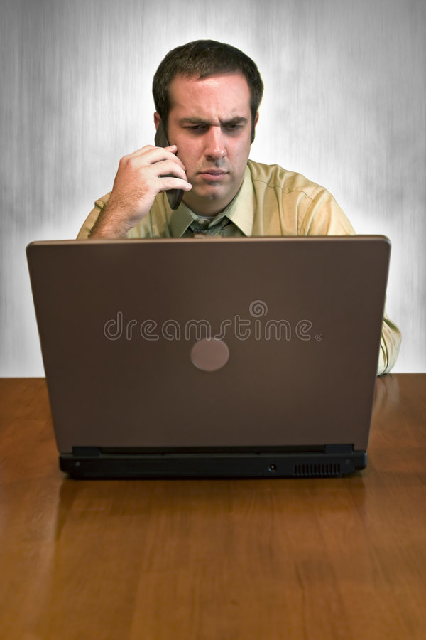 Download Concerned Business Man stock image. Image of office, employee - 6503817