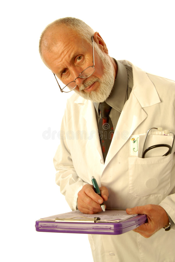 Download Concerned doctor stock image. Image of clipboard, kind - 3442719