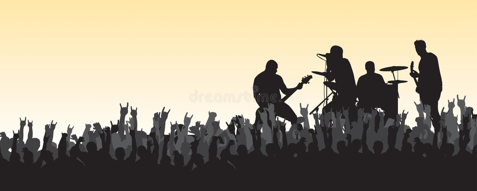 Concert 21 Royalty Free Stock Photos