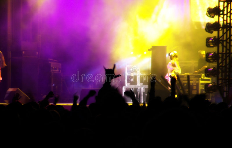 Concert stock images