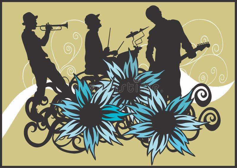 Concert illustration de vecteur