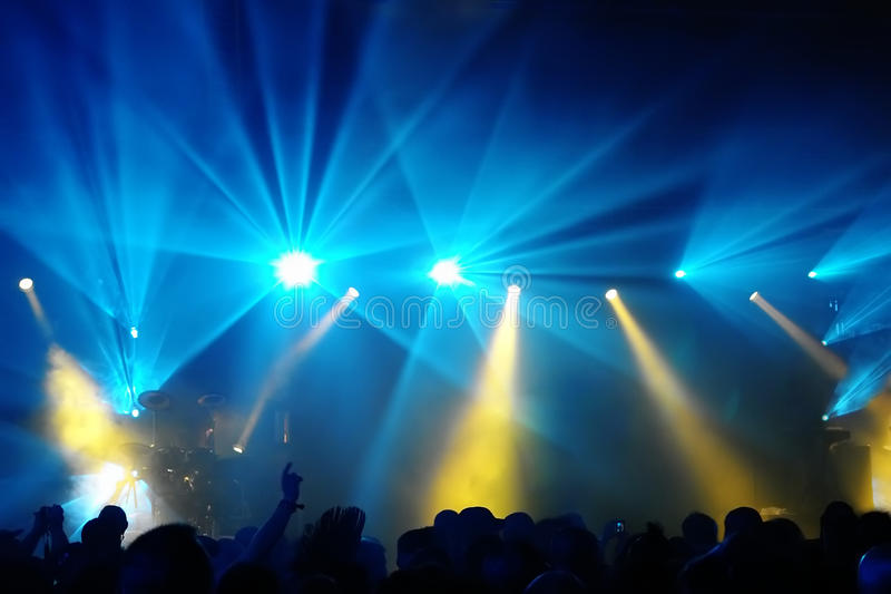 Download Concert Crowd stock image. Image of entertainment, audience - 10447785