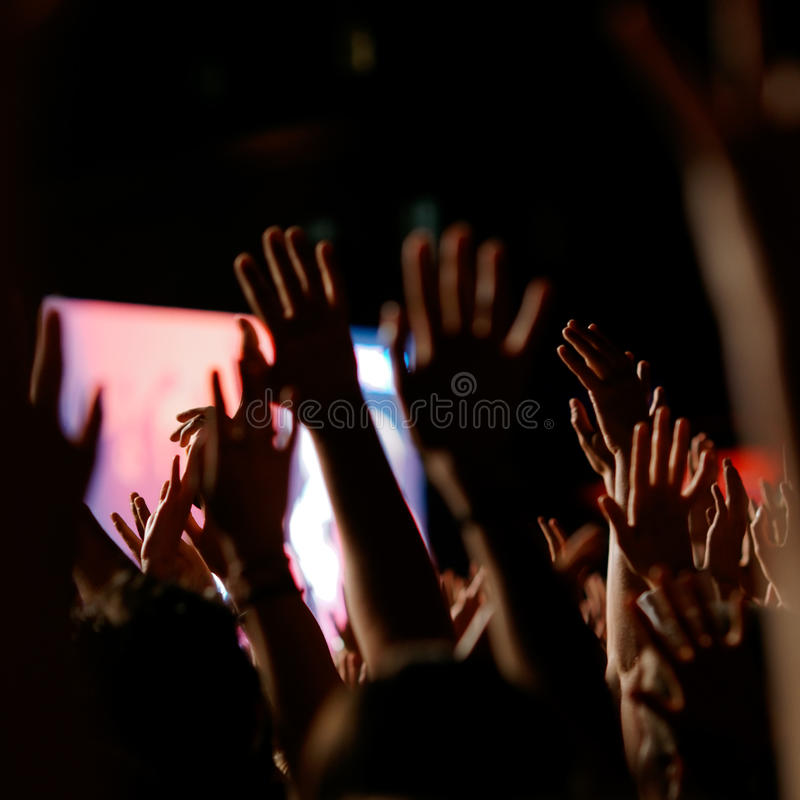Download Concert crowd stock photo. Image of fans, crowd, rock - 10692860
