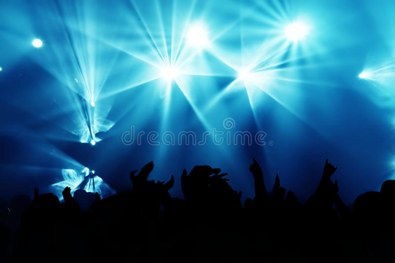 Download Concert Crowd stock image. Image of rock, rhythm, people - 10878345
