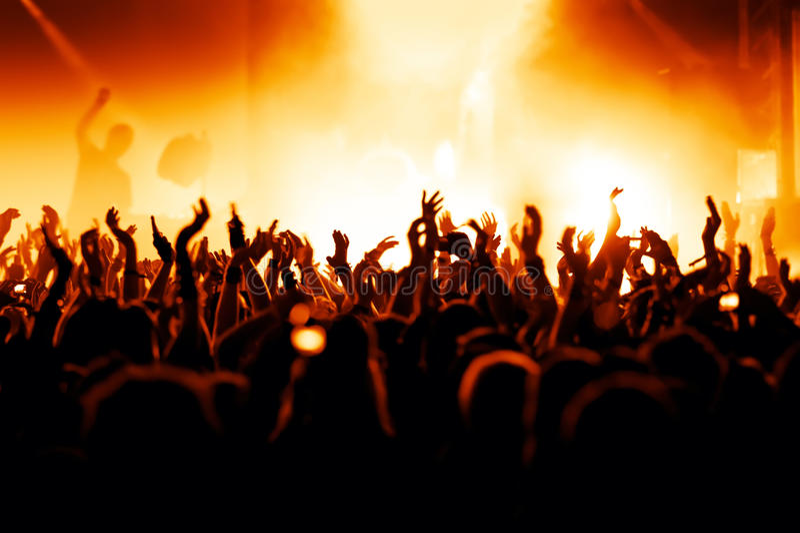 Download Concert Crowd stock photo. Image of crowd, perform, actor - 15399402