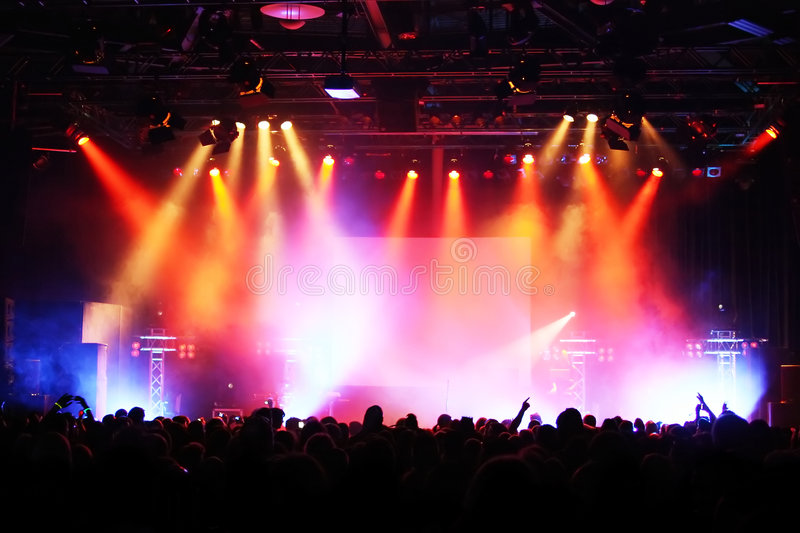 Download Concert Crowd stock photo. Image of audience, festival - 7502266