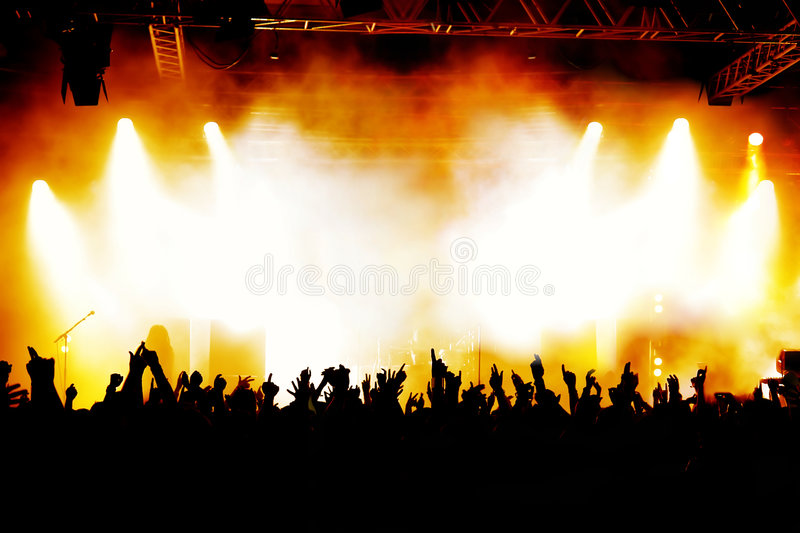 Download Concert Crowd stock image. Image of event, punk, audience - 8485709