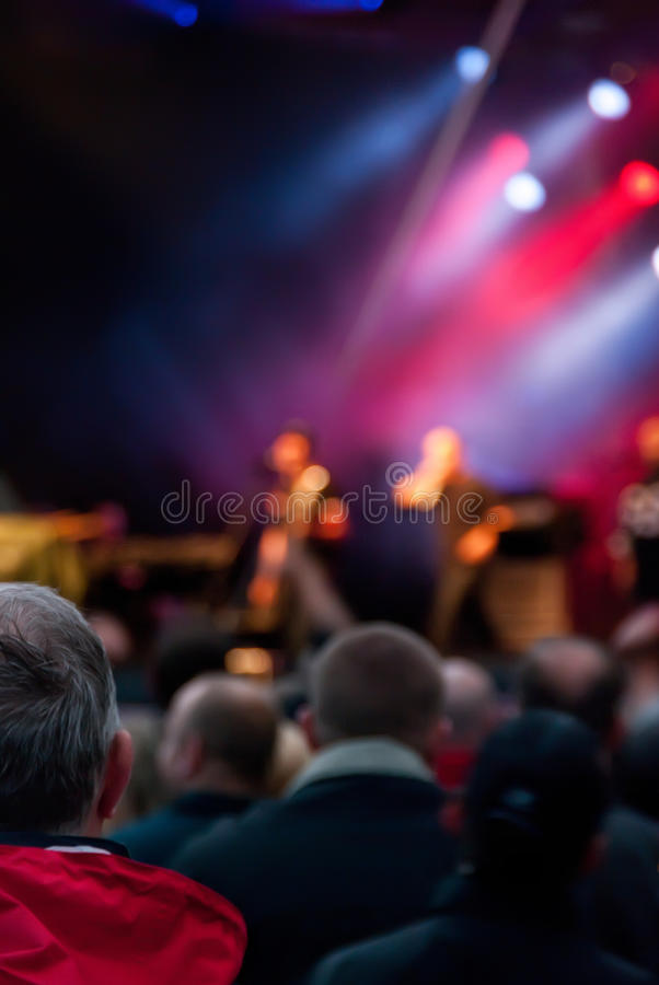 Download Concert crowd stock image. Image of patrons, entertainment - 31269691