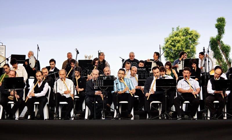 Concert d'air ouvert à Istanbul photographie stock libre de droits