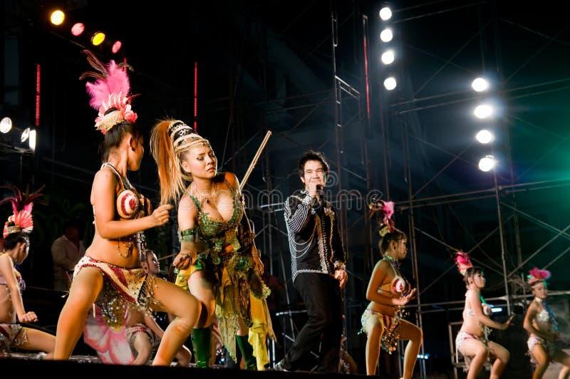 Concert dans Samut Prakan, Thaïlande image libre de droits