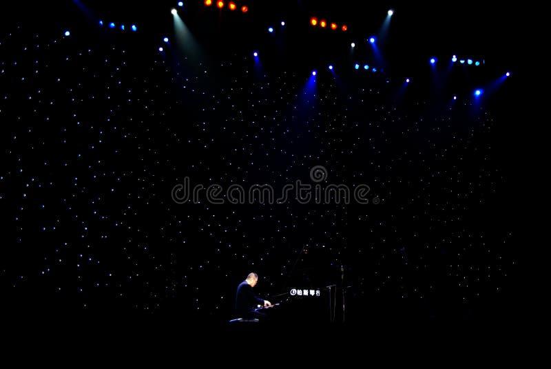 Concert de MOIS Hualun dans le réveillon de Noël photo stock