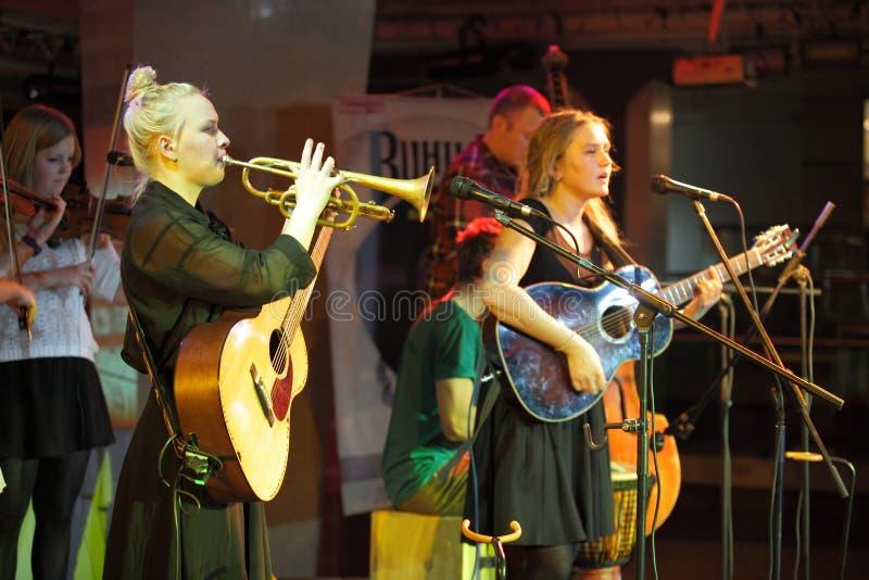 Concert de musique en direct photo stock