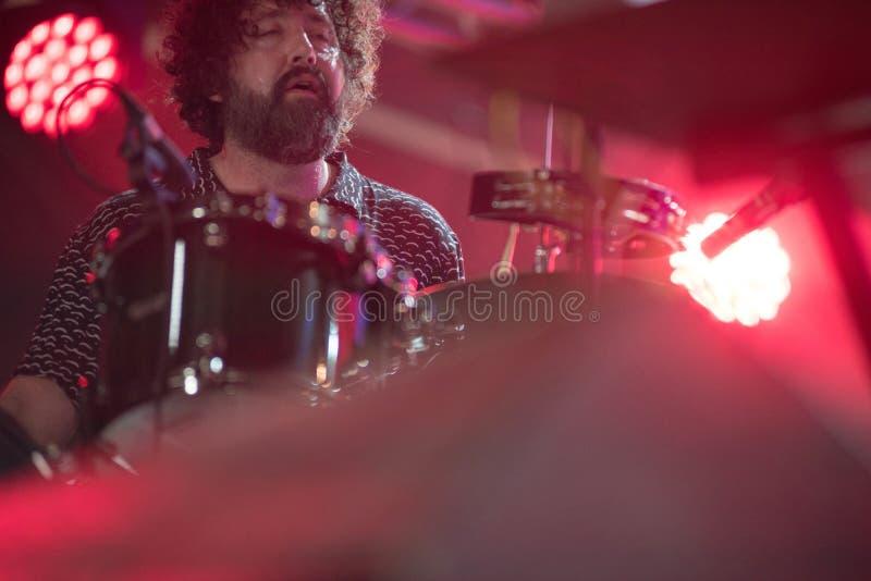 Concert de musique en direct image libre de droits