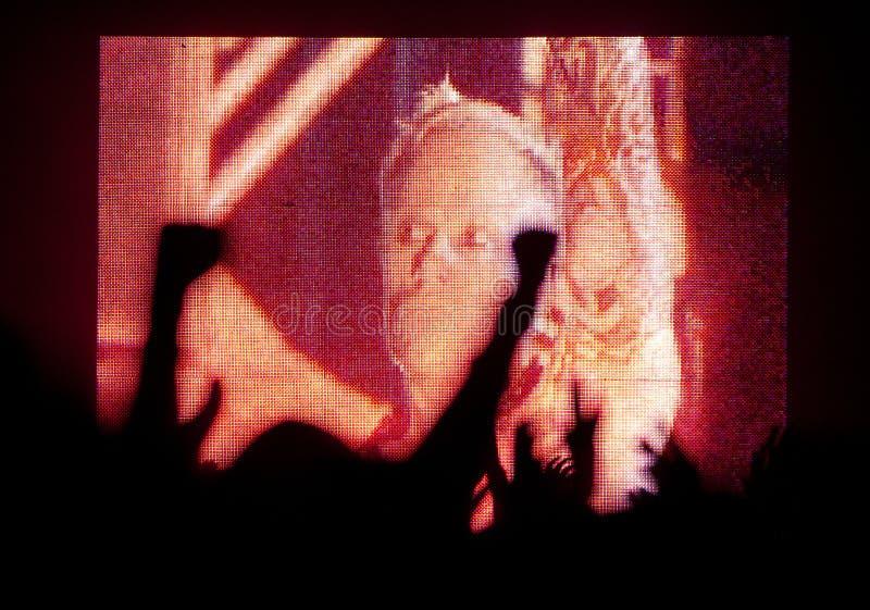 Concert de Prodigy image stock