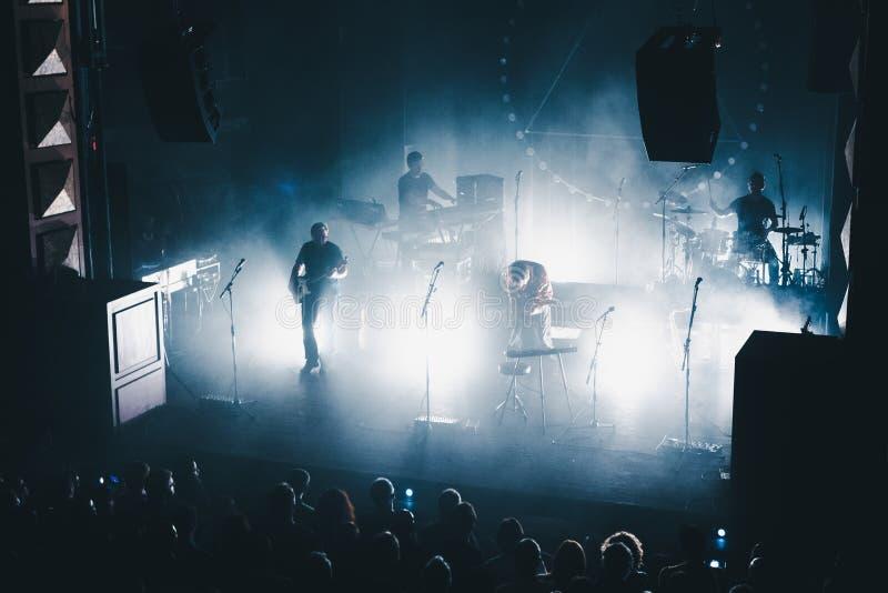 Concert de rock image libre de droits