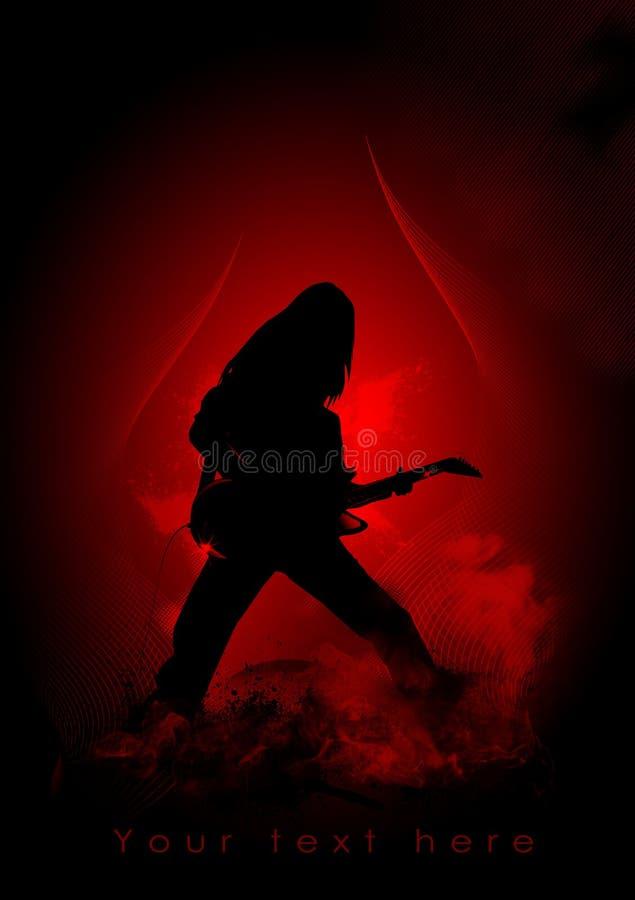 Concert de rock illustration libre de droits
