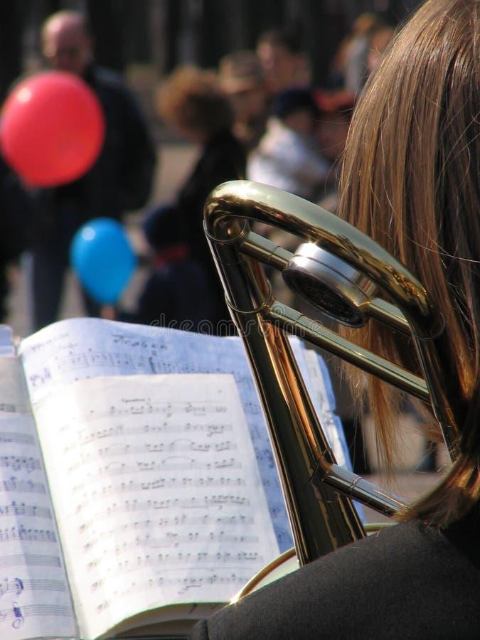 Concert de rue photographie stock libre de droits