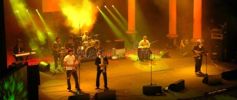 Concert de Salsa images libres de droits