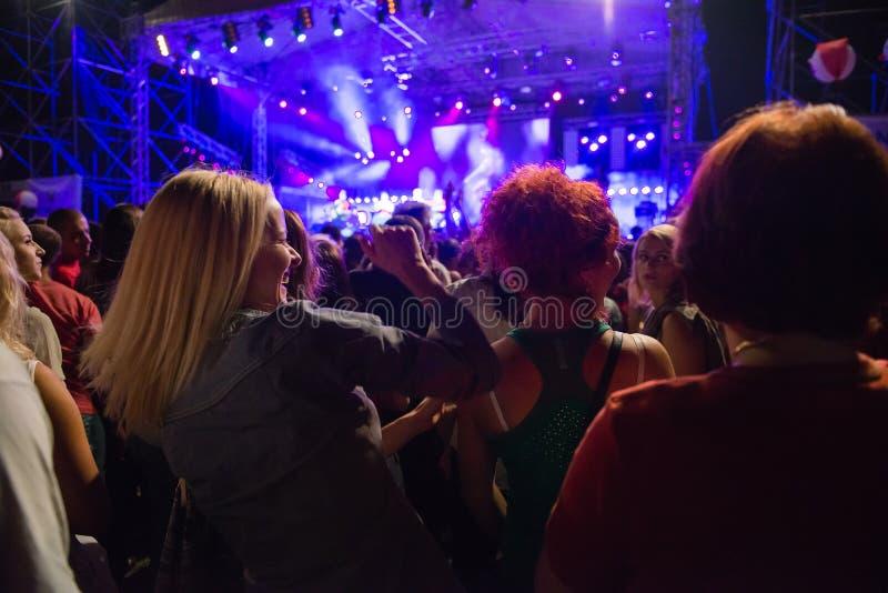 Concert dehors photos libres de droits