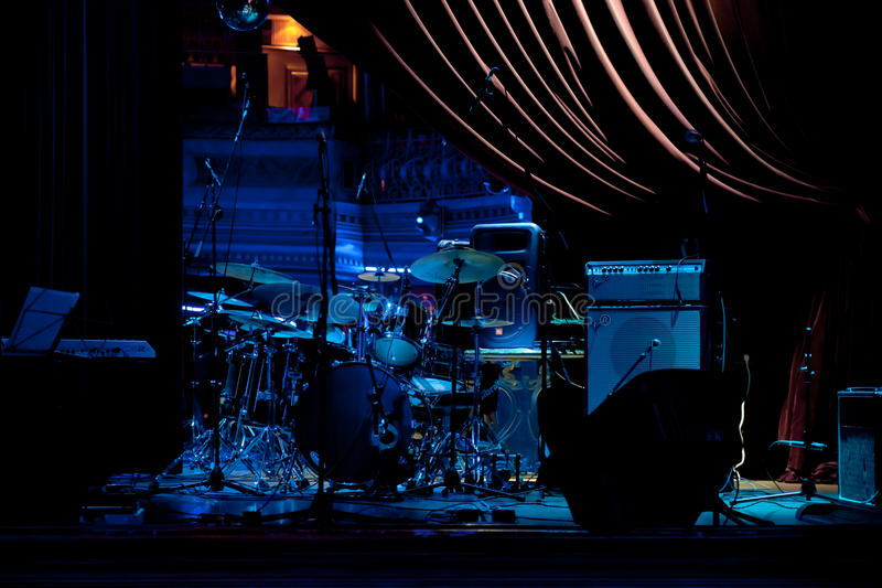 Concert of the group Champagne royalty free stock photography