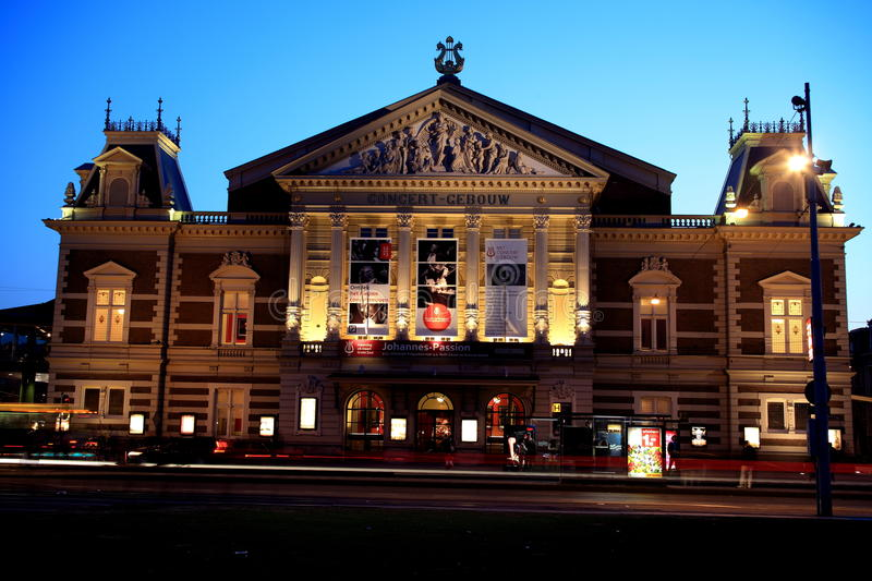 Concert Hall In Amsterdam Editorial Photography