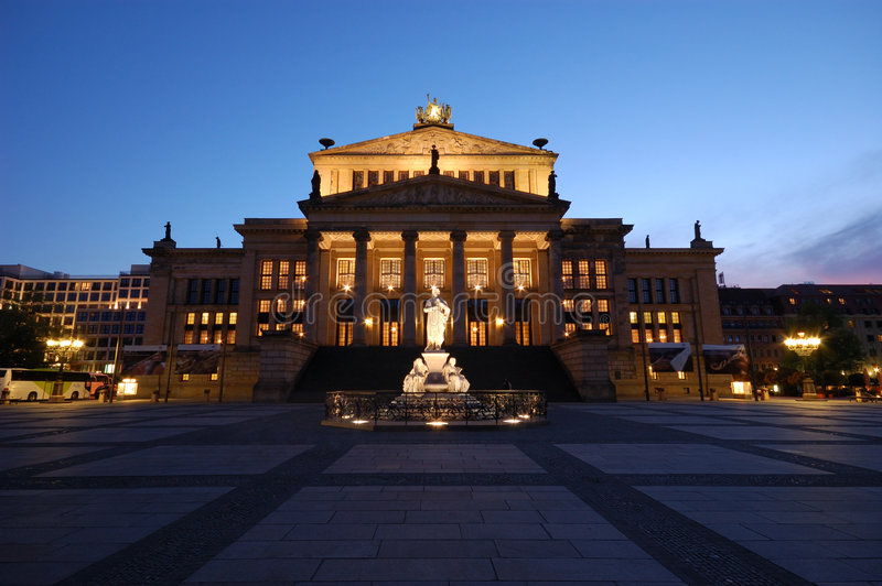 Download The Concert Hall in Berlin stock image. Image of tourism - 2389009