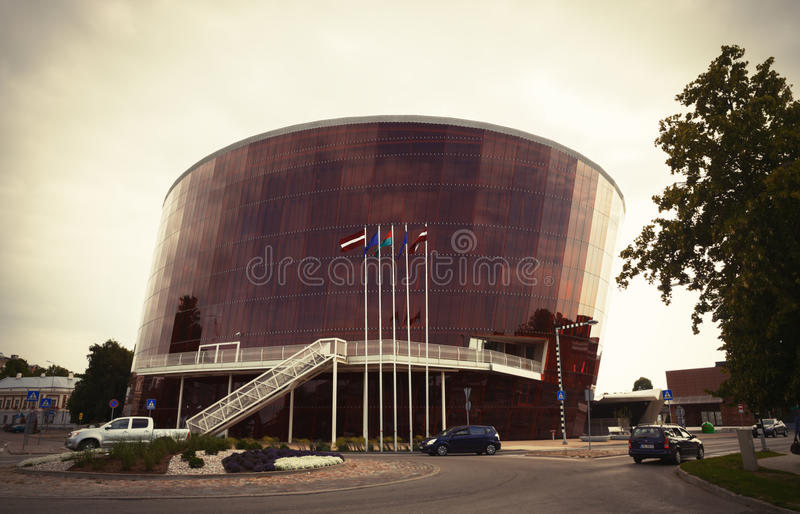 Concert Hall Great Amber in Liepaja, Latvia stock photography