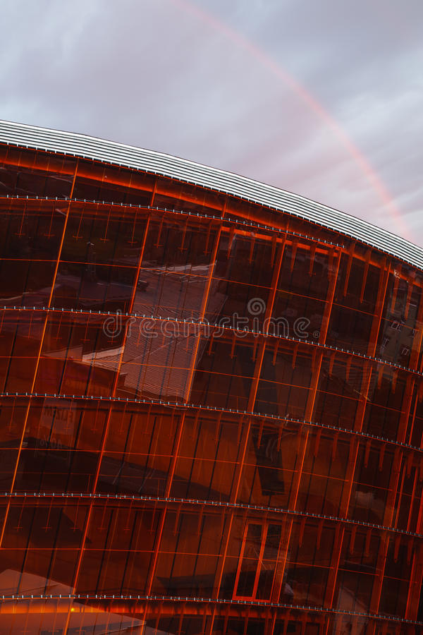 Concert Hall Great Amber in Liepaja, Latvia stock photo