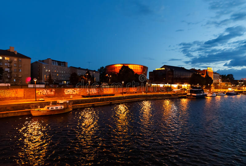 Concert Hall Great Amber in Liepaja, Latvia royalty free stock photo