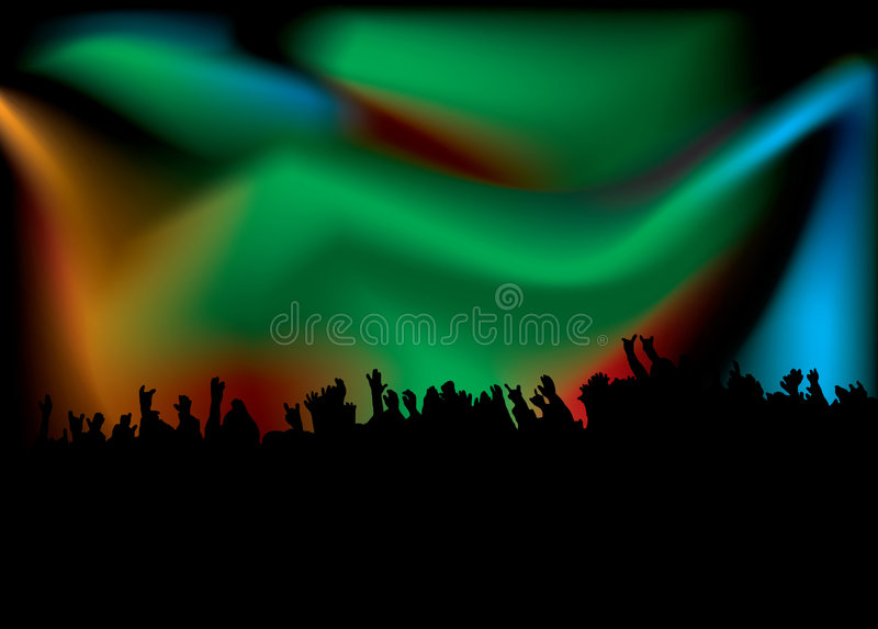 Concert Hands Royalty Free Stock Photos