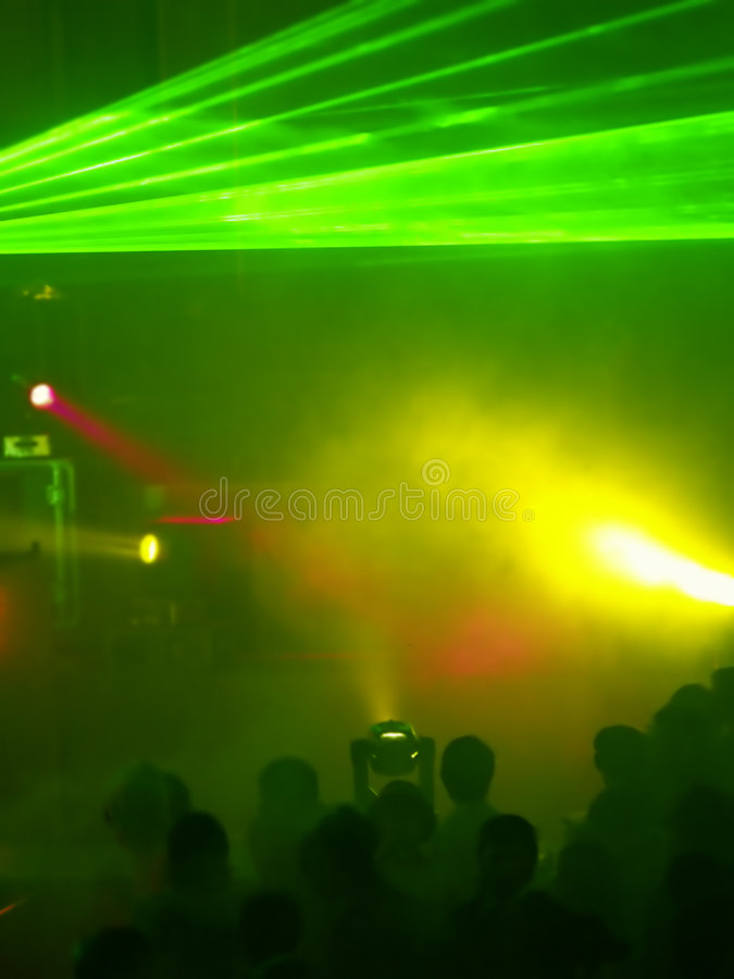 Concert (Light Show) royalty free stock photo