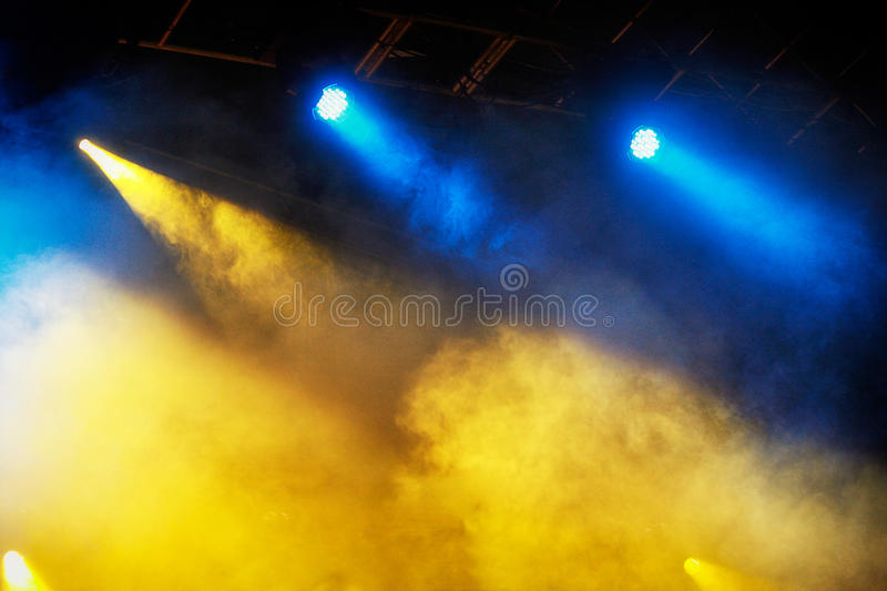 Concert Light Show Stock Photos