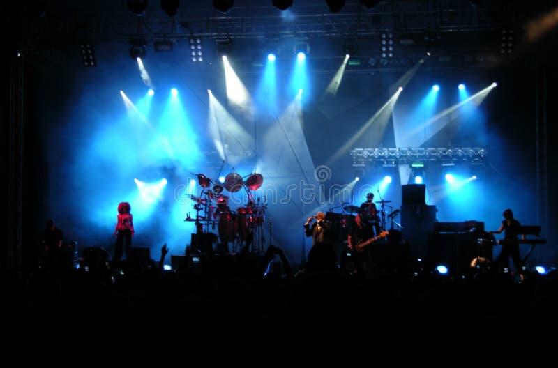 concert live στοκ εικόνα