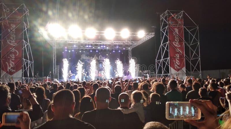 Concert mago de oz images stock