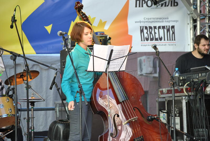 The concert at the Moscow Jazz College