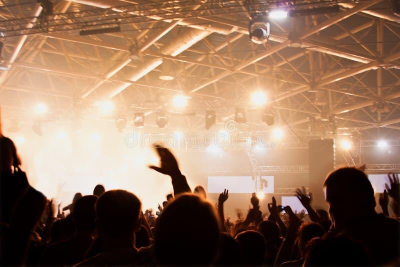 Concert performances stock photography