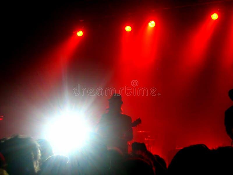 concert rock στοκ εικόνα με δικαίωμα ελεύθερης χρήσης