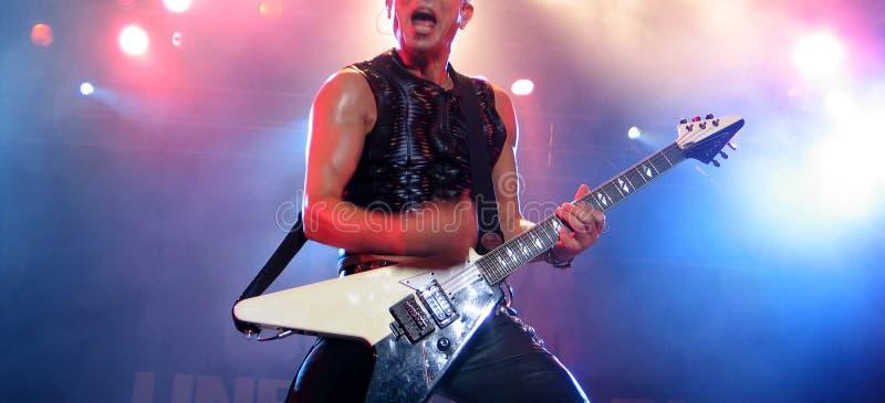 concert rock στοκ εικόνα