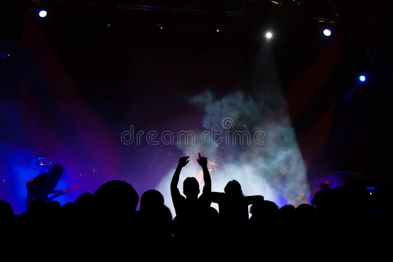 Concert sous tension images stock