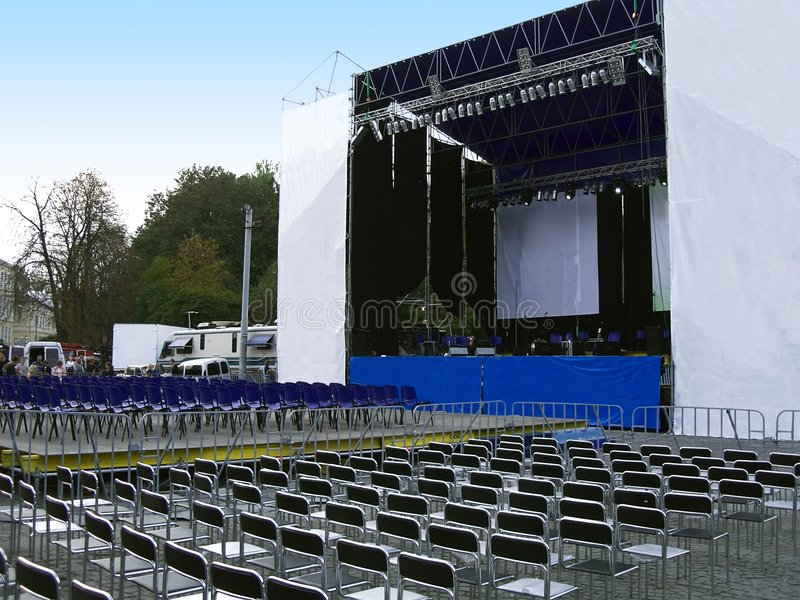 Download Concert Stage Royalty Free Stock Image - Image: 1367066