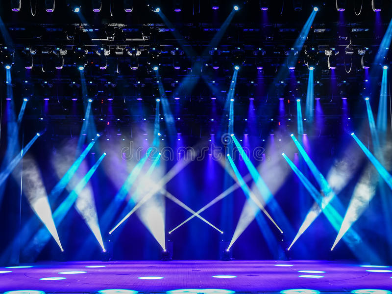 Concert Stage Stock Image Image Of Disco Concert Glow