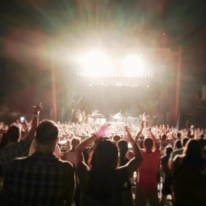 Concert in the Summer royalty free stock image